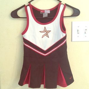EUC Girls Astro's Nike Cheerleading Dress 3T